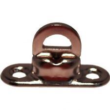 5Stück Plane Drehwirbel Drehverschluss messing vernickelt 8 mm hoch 1Stück=1,18€