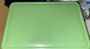 Vintage Brexton Sirram Plastic Bakelite Food Box- Green - 1950-60s Picnic Set