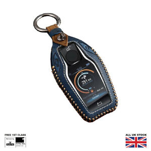 Leather Luxury Smart Key Cover For BMW 7 Series 5 Series X3 X4 X5 i8 6 Series GT