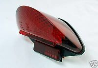 BMW RED LED TAIL LIGHT F650 GS R1200GS R1200 CLEAR LIGHTS 'E' MARKED ROAD LEGAL
