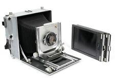 Linhof Super Technika 5X7 Camera w/ 210mm lens + Holders NEW BELLOWS + FULL CLA