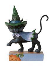 Jim Shore Halloween Mini Walking Black Cat #6006705 New 2020 Free Shipping