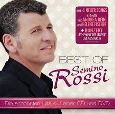 SEMINO ROSSI - BEST OF  CD + DVD NEW+