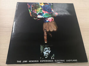 """JIMI HENDRIX EXPERIENCE """"ELECTRIC LADYLAND"""" ORIG FR 1968/71 M-/M-"""
