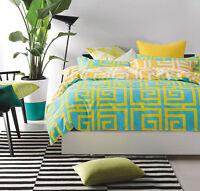 T533 100% Cotton Queen/King/Super King Size Bed Duvet/Doona/Quilt Cover Set New