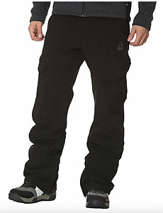 USED Gerry Men's Size:LARGE Snow-tech Pants Boarder Ski Pant 4 Way Stretch Black