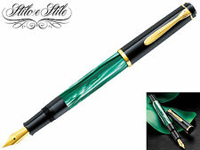 Pelikan M200 Green Marble Pen Fountain Pen Green Marble
