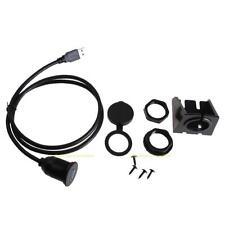 1M USB 3.0 Male to USB 3.0 Female AUX Flush Mount Car Mount Extension Cable Lead
