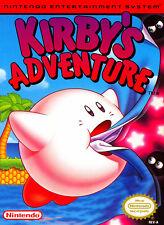 Kirby's Adventure NINTENDO NES Video Game