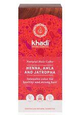 Khadi Naturel Cheveux Couleur - Henné / Amla.jatropha - 100g - Herbes Coloration