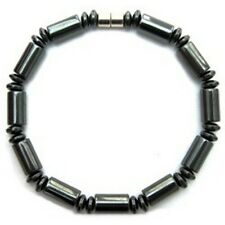 Stargate - Simulated Hematite Magnetic Therapy Magnet Bracelet