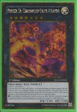 Yugioh PGLD-EN018 Number C6: Chronomaly Chaos Atlandis Gold Secret Rare Card