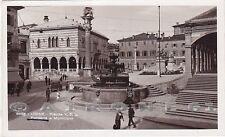 UDINE CITTÀ 98 FONTANA - MUNICIPIO Cartolina FOTOGRAFICA viaggiata 1942