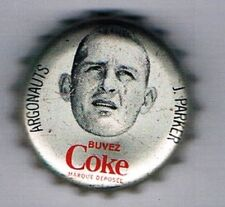 1965 Coke Caps CFL French #193 Jackie Parker
