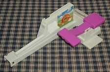 1992 Milton Bradley Loopin Louie Purple Paddle & Coin Slide Replacement Part