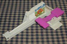1992 Milton Bradley Loopin Louie Purple Paddle & Coin Slide Replacement Part