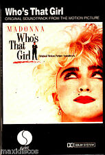 CAS - Madonna - Who's That Girl (O.S.T.) SPANISH EDIT. MINT SEALED - PRECINTADO