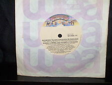 "DONNA SUMMER BARBRA STREISAND NO MORE TEARS - AUSTRALIAN 7"" 45 VINYL RECORD"