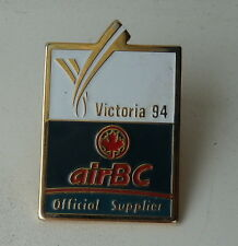 Air BC Canada  Victoria 94 Official Supplier Lapel Souvenir Pin