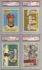 2007 Topps Heritage #351 Cards Fence Busters PSA 9 CARDINALS Pujols Rolen Eck