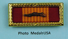 Vietnam Gallantry Cross Unit Citation Ribbon with palm & large frame - Army