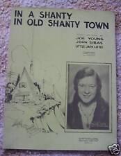 In a Shanty In Old Shanty Town Alice Joy Sheet Music
