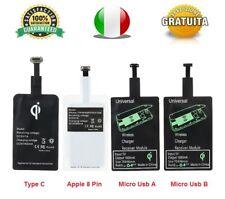 Modulo Ricarica Wireless QI Senza Fili Adattatore Ricevitore WiFi Universale