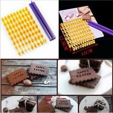 Letter Flag Silicone Cake Decorating Baking Press Stamp Cookie Chocolate Mould !