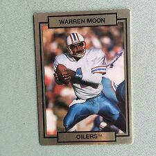 """WARREN MOON, Oilers, """"Action Packed"""" #97, 1990..FREE shipping USA"""