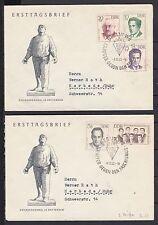 Gebiet DDR Briefmarken aus Deutschland (ab 1945) mit Ersttagsbrief für Geschichte