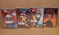 LOT DVD Getter Robo: Armageddon Vol. 1; 2; 3 and Black Lion Anime R1 BRAND NEW
