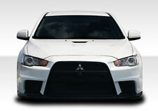 08-15 Mitsubishi Lancer EVO X Look Duraflex Front Body Kit Bumper!!! 106953