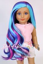 Custom American Girl Doll Wig |PURPLE DREAM |10-11 size wig |Blythe| OG| Madame