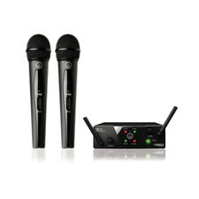 AKG HR168 WMS40 Mini2 Dual Wireless microphone system 864.735 / 864.85 MHz