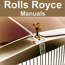 ROLLS-ROYCE Silver Shadow Corniche WORKSHOP SERVICE MANUAL & PARTS MANUALS