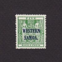 SAMOA 1942, SG# 194a, CV £180, part set, overprint, MNH