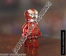 Lego Iron Man Red Super Heroes minifigure ironman (lego custom)