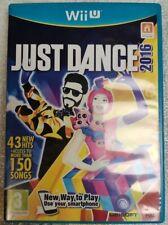 Just Dance 2016 PAL FR NL Jeu Nintendo WII U WIIU Speel Game