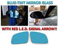 USA 2008-2009 Mercedes Benz W204 C Class Red Arrow LED Turn Signal Mirror Glass