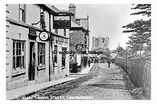 pt7880 - Conisbrough Church Street , Fox Hotel , Yorkshire - photograph 6x4