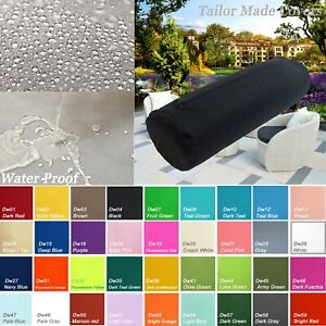 TAILOR MADE*Bolster Cover*Waterproof Outdoor Yoga Neck Roll Long Tube Case Dw04
