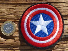 ECUSSON PATCH toppa aufnaher THERMOCOLLANT CAPTAIN AMERICA marvel dc comics