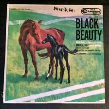 Black Beauty & Other Stories LP Vinyl Marla Ray & Eddie Mason RCA Camden
