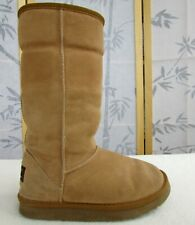 7 | UGG Classic Tall Women Chestnut Sheepskin Leather Wool Lined Boot