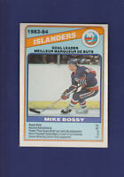 Mike Bossy Goal Leader HOF 1984-85 O-PEE-CHEE OPC Hockey #362 (NM) Islanders