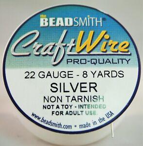 BeadSmith Craft Wire Pro Quality 22 Gauge