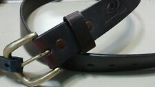 Men's Mossy Oak Brown Genuine Leather Belt Size 32 R