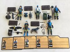 GI JOE CONVENTION 2018 SLAUGHTERS HARDBALL SGT SMASHER SPIRIT MUTT FOOTLOOSE LOT