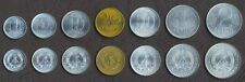 GERMANY EAST GERMAN SET 1+5+10+20+50 Pfennig 1+2 Mark UNC 200OTHER_COIN_SET_HERE
