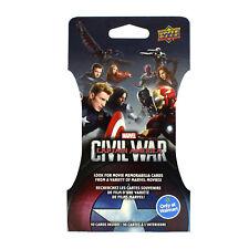 Marvel Captain America: Civil War Trading Cards Super Pack Lot of 36 WALMART BOX